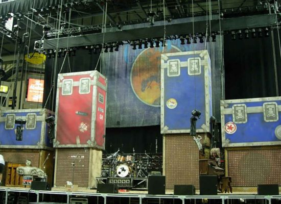 Neil Young Backdrop