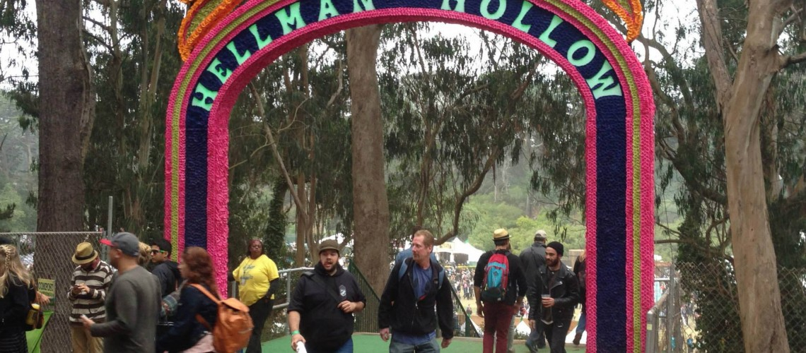 Outside Lands Arch